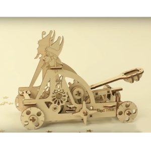 Wood Trick 3D mechanical models catapult