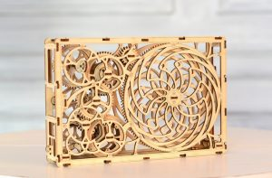Wooden City 3D mechanical models Kinetic Picture