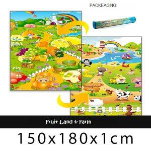 Babypol floor mat farm & fruit land