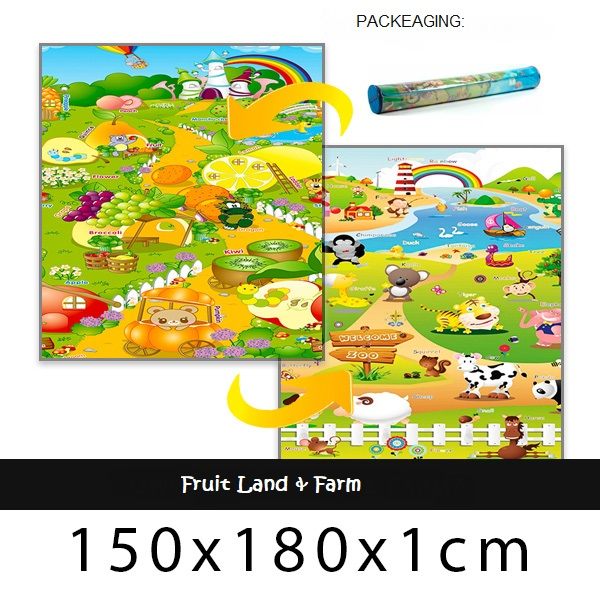 Babypol floor mat farm & fruit land