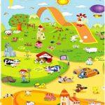 Babypol mat Penguins & Flying Carpet
