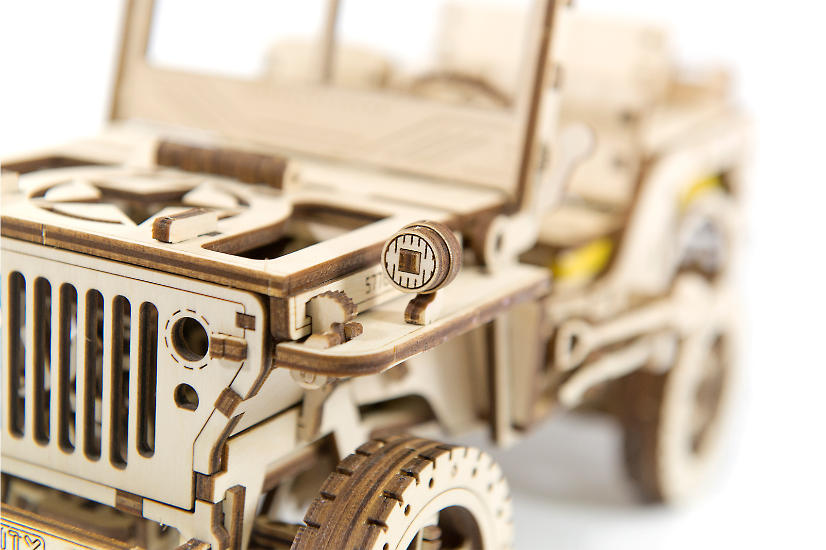 Wooden City 4x4 JEEP